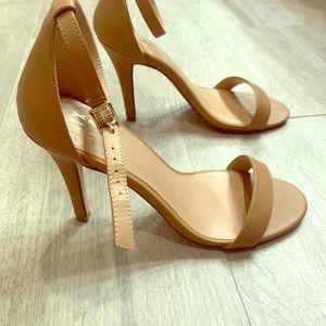 Tan High Heel Sandal